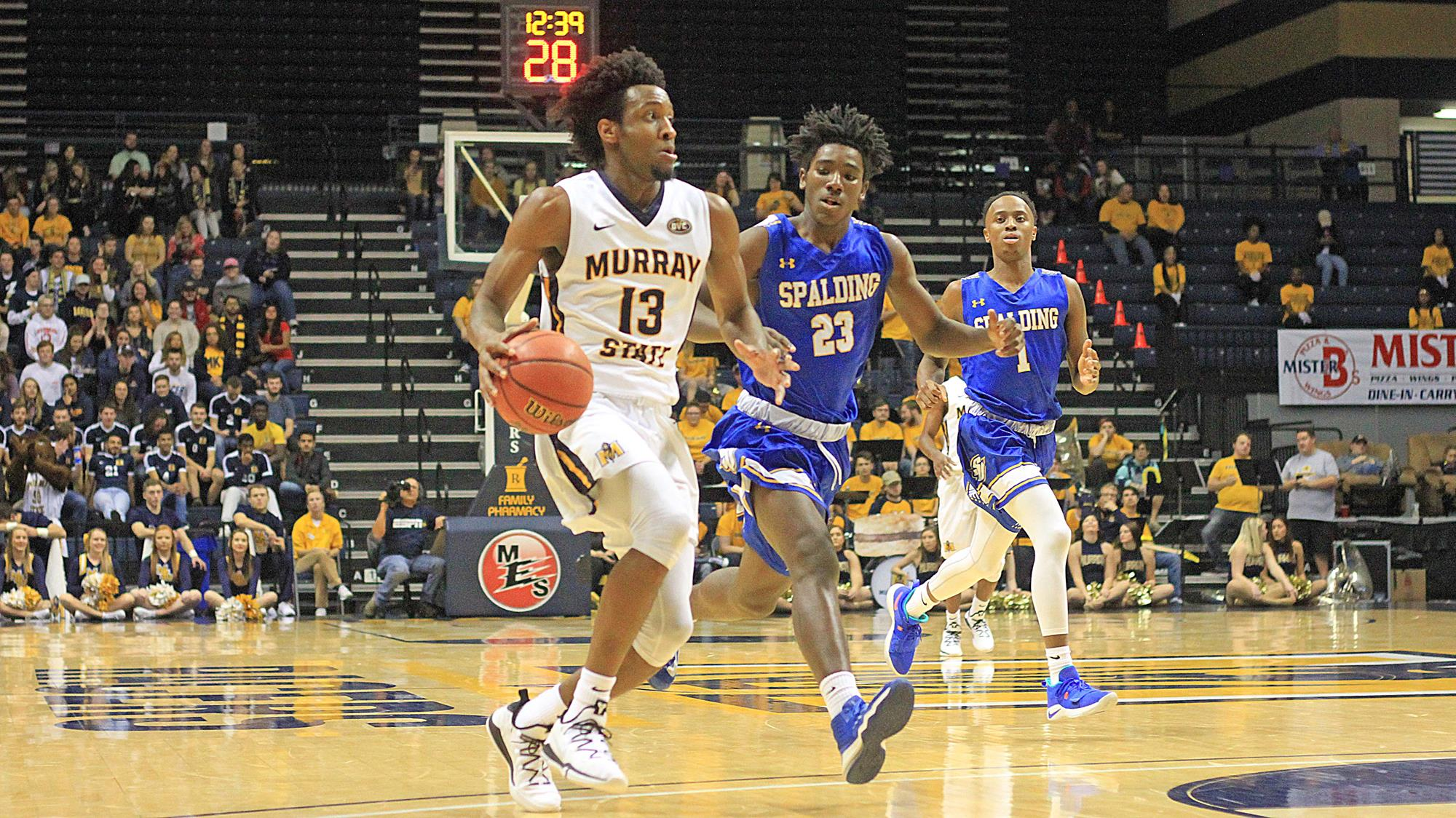 50ebdd6e2f6 Records Fall In Racers Romp Over Spalding - Murray State University ...